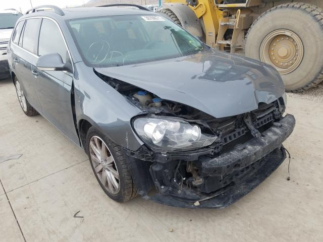 Salvage cars for sale from Copart Farr West, UT: 2012 Volkswagen Jetta TDI