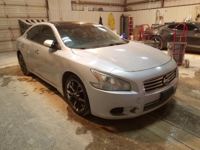 Salvage cars for sale from Copart Abilene, TX: 2012 Nissan Maxima S