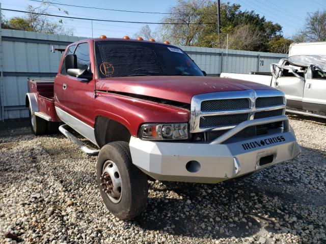Salvage cars for sale from Copart Corpus Christi, TX: 2002 Dodge RAM 3500