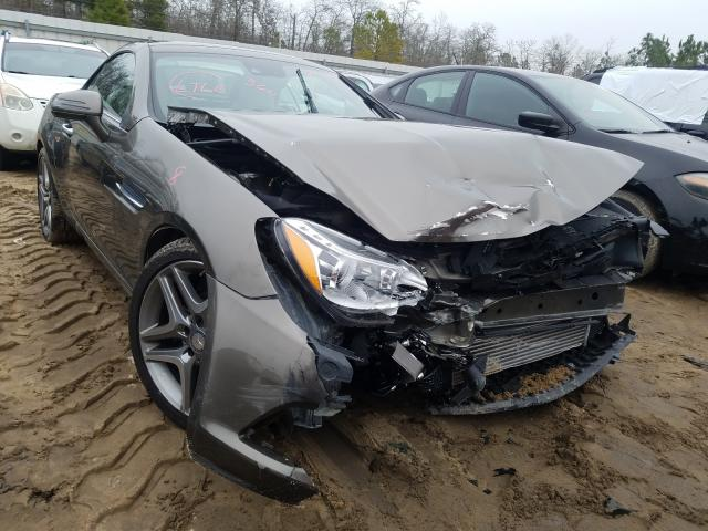 Salvage cars for sale from Copart Gaston, SC: 2015 Mercedes-Benz SLK 250