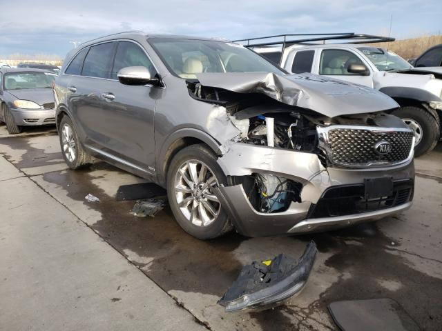 KIA Sorento SX salvage cars for sale: 2018 KIA Sorento SX