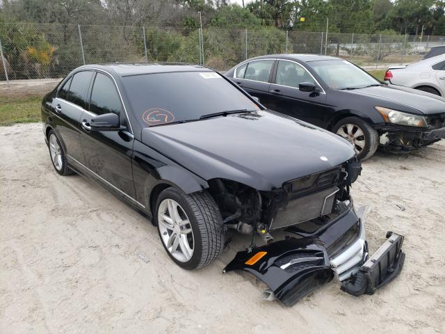 Salvage cars for sale from Copart Fort Pierce, FL: 2013 Mercedes-Benz C 250