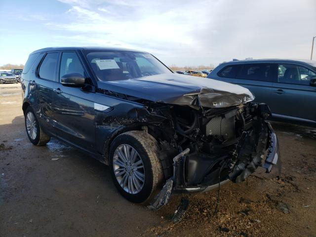 Salvage cars for sale from Copart Temple, TX: 2017 Land Rover Discovery