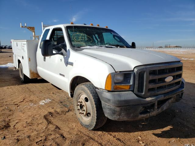 Salvage cars for sale from Copart Andrews, TX: 2005 Ford F350 Super