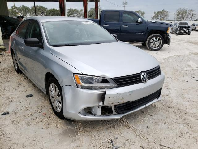 Salvage cars for sale from Copart Homestead, FL: 2012 Volkswagen Jetta Base
