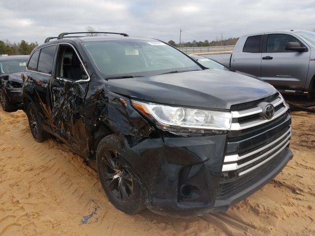 Salvage cars for sale from Copart Gaston, SC: 2017 Toyota Highlander