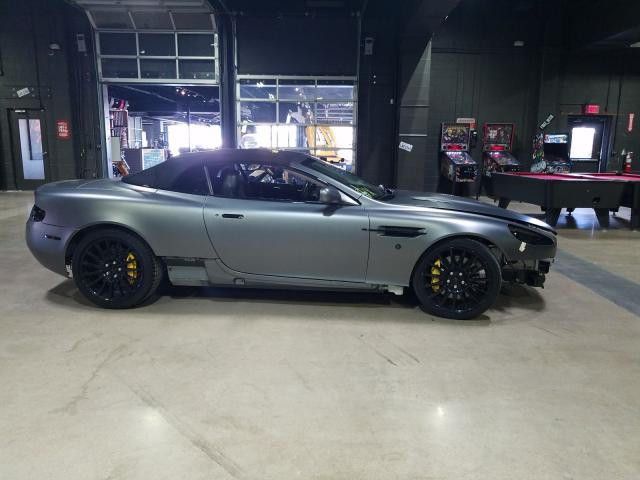Salvage cars for sale from Copart Dallas, TX: 2006 Aston Martin DB9 Volant
