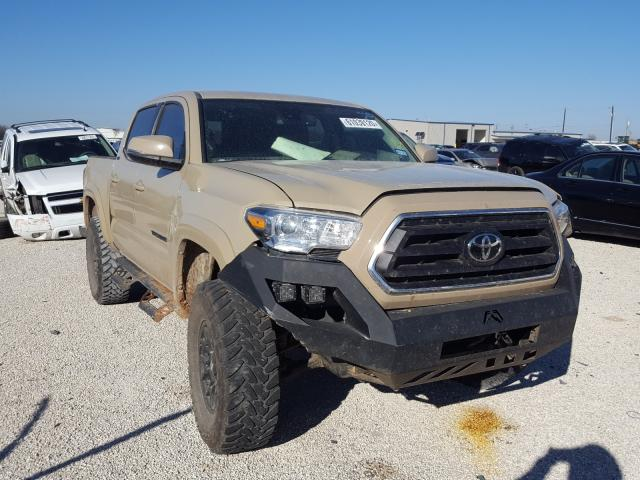 Salvage cars for sale from Copart San Antonio, TX: 2020 Toyota Tacoma DOU