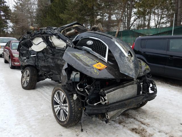 KIA salvage cars for sale: 2015 KIA Sportage E