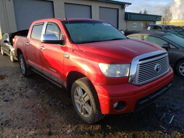 Salvage cars for sale from Copart Eugene, OR: 2012 Toyota Tundra CRE