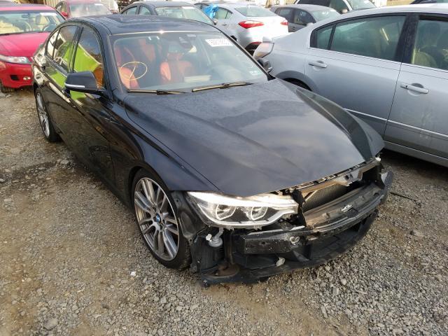 BMW Vehiculos salvage en venta: 2016 BMW 340 XI