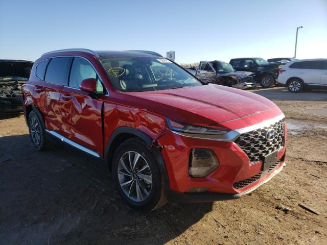 Salvage cars for sale from Copart Temple, TX: 2020 Hyundai Santa FE S