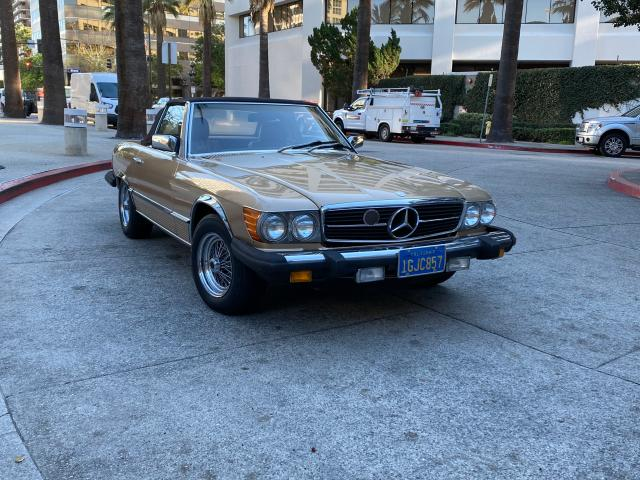 Salvage cars for sale from Copart Wilmington, CA: 1983 Mercedes-Benz 380 SL