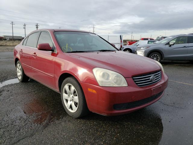 Salvage cars for sale from Copart Pasco, WA: 2008 KIA Optima LX