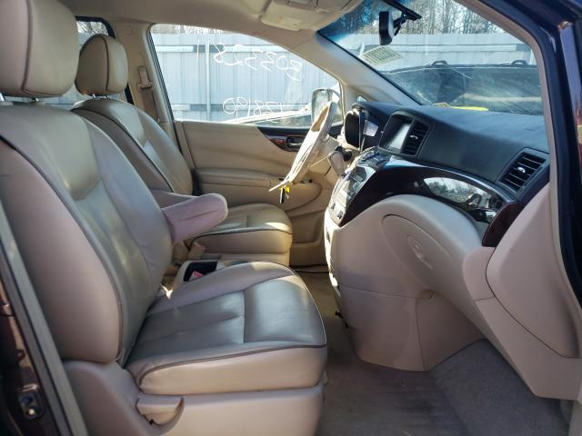 пригнать из сша 2011 Nissan Quest S 3.5L JN8AE2KP2B9003948
