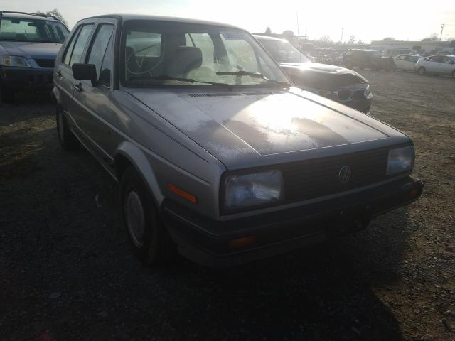 Salvage cars for sale from Copart Antelope, CA: 1986 Volkswagen Golf Custo