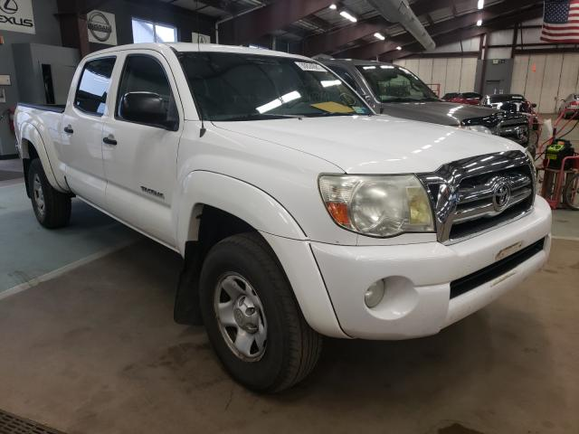 Salvage cars for sale from Copart East Granby, CT: 2007 Toyota Tacoma DOU