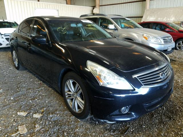 Infiniti G25 Base salvage cars for sale: 2012 Infiniti G25 Base