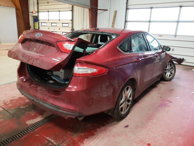 цена в сша 2014 Ford Fusion Se 1.5L 3FA6P0HD4ER239898