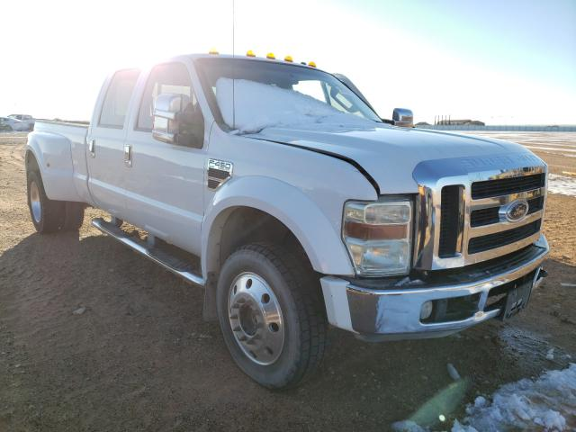 Salvage cars for sale from Copart Andrews, TX: 2008 Ford F450 Super