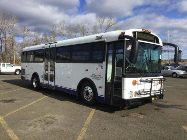 Salvage cars for sale from Copart East Granby, CT: 2010 Thomas Transit Bus