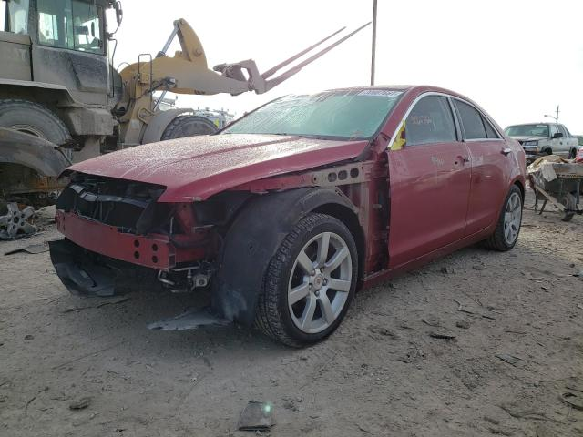 2013 CADILLAC ATS - Left Front View