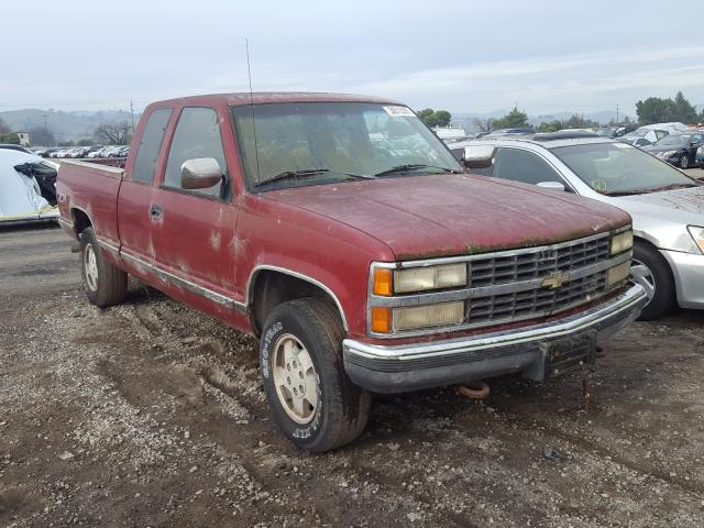 Chevrolet GMT-400 K1 salvage cars for sale: 1992 Chevrolet GMT-400 K1