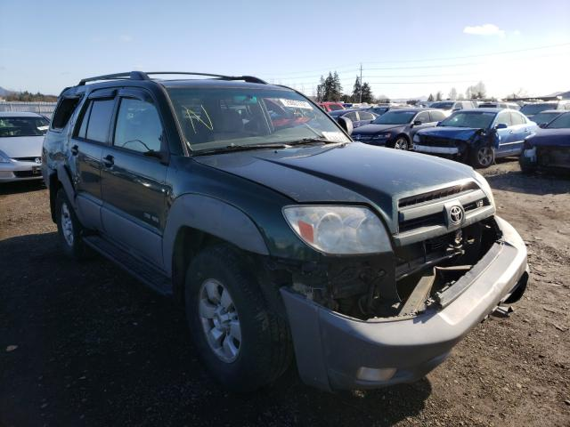 Salvage cars for sale from Copart Eugene, OR: 2003 Toyota 4runner