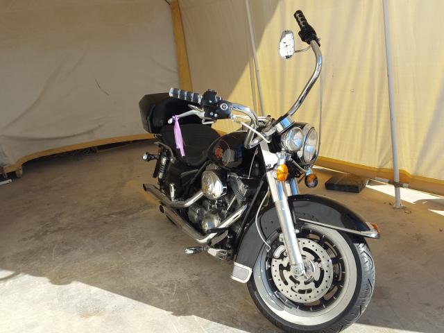 Salvage cars for sale from Copart San Antonio, TX: 2000 Harley-Davidson Flht