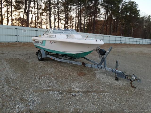 Salvage cars for sale from Copart Brookhaven, NY: 1994 Procraft Boat With Trailer