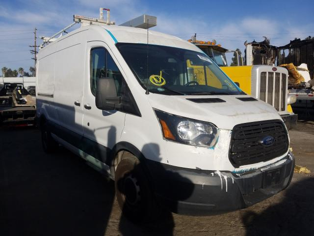 Salvage cars for sale from Copart Sun Valley, CA: 2016 Ford Transit T
