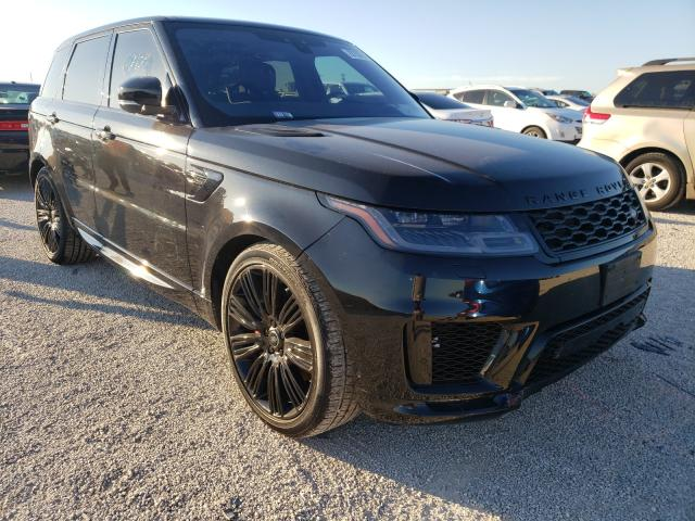 Salvage cars for sale from Copart San Antonio, TX: 2019 Land Rover Range Rover