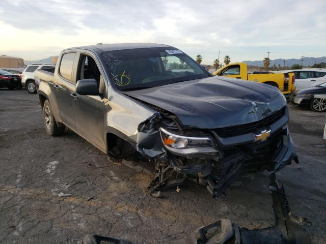 Salvage cars for sale from Copart Colton, CA: 2019 Chevrolet Colorado Z