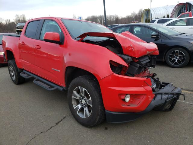Salvage cars for sale from Copart East Granby, CT: 2016 Chevrolet Colorado Z