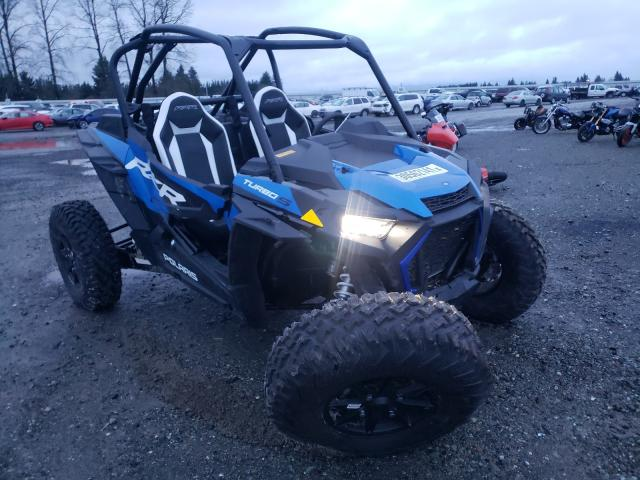 Salvage cars for sale from Copart Arlington, WA: 2021 Polaris RZR XP Turbo