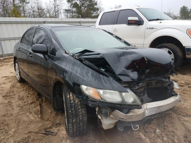 Salvage cars for sale from Copart Gaston, SC: 2009 Honda Civic LX