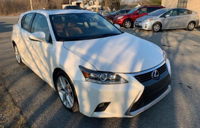 Salvage cars for sale from Copart York Haven, PA: 2014 Lexus CT 200