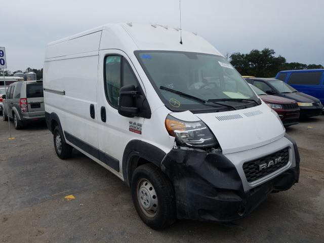 Salvage cars for sale from Copart Jacksonville, FL: 2019 Dodge RAM Promaster