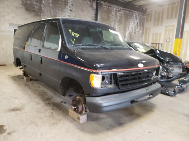Salvage cars for sale from Copart Chalfont, PA: 1994 Ford Econoline