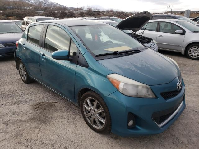Salvage cars for sale from Copart Reno, NV: 2014 Toyota Yaris