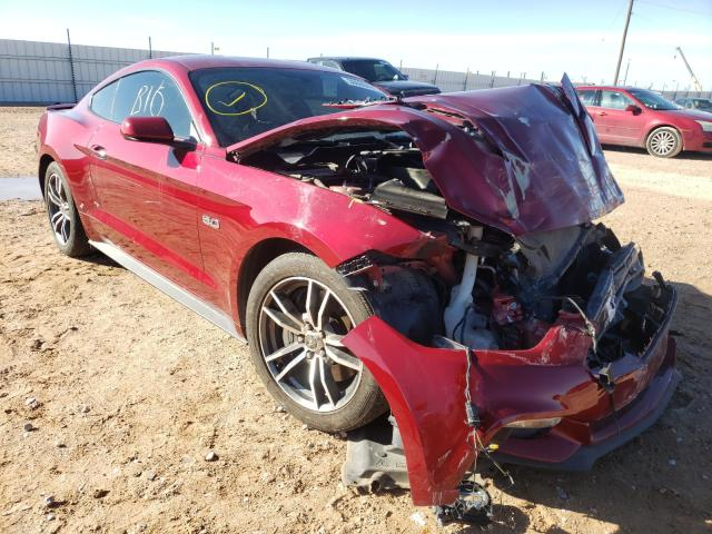 Salvage cars for sale from Copart Andrews, TX: 2016 Ford Mustang