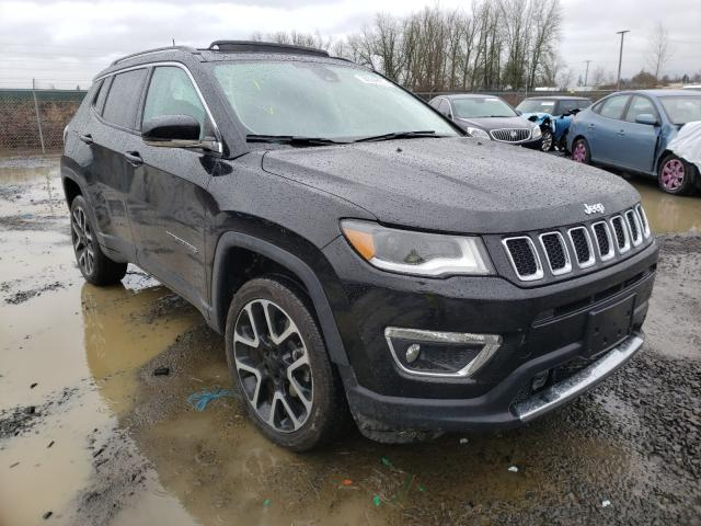 Salvage cars for sale from Copart Eugene, OR: 2017 Jeep Compass LI