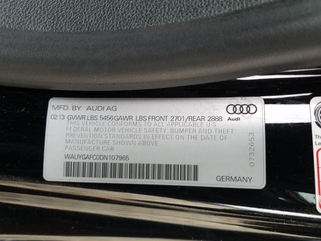 2013 AUDI A7 PREMIUM WAUYGAFC0DN107965