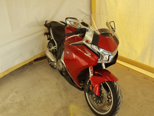 Salvage cars for sale from Copart San Antonio, TX: 2010 Honda VFR1200 F