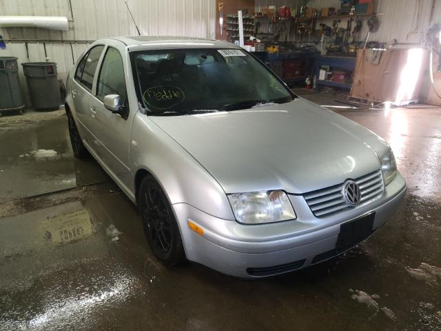 Volkswagen Jetta GLX salvage cars for sale: 2003 Volkswagen Jetta GLX