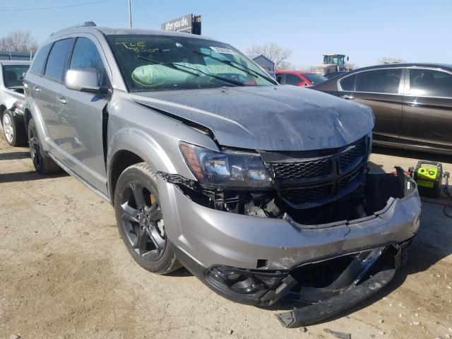Salvage cars for sale from Copart Wichita, KS: 2019 Dodge Journey CR