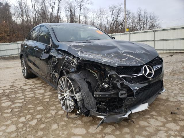 Salvage cars for sale from Copart West Mifflin, PA: 2017 Mercedes-Benz GLE Coupe