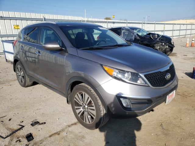 Vehiculos salvage en venta de Copart Lexington, KY: 2014 KIA Sportage E