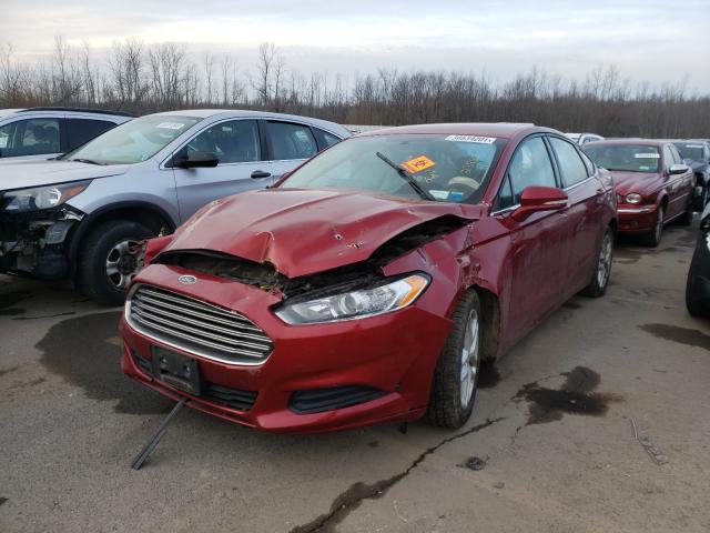 из сша 2014 Ford Fusion Se 1.5L 3FA6P0HD4ER239898