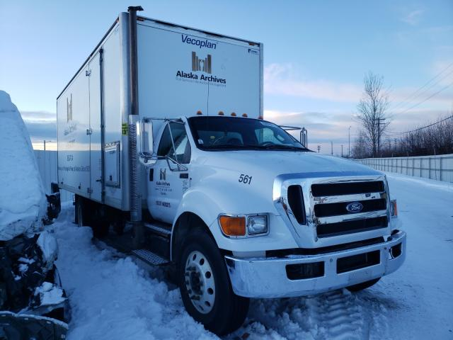 Salvage cars for sale from Copart Anchorage, AK: 2011 Ford F750 Super